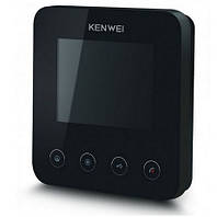Видеодомофон 4'' Kenwei E401FC (black)