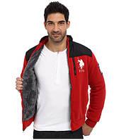 Куртка зимняя мужская u.s.polo на меху р. XXL