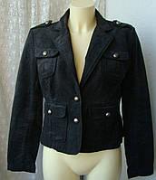 Куртка женская жакет хлопок джинс бренд Cherokee р.46 3654а