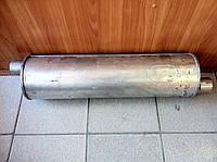 Глушитель алюминизированный Газель (выход со смещением)