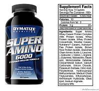 Dymatize Nutrition Super Amino (Супер Амино) 6000 500 таблеток Аминокислоты