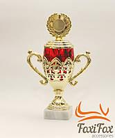 Кубок для награды с жетоном под гравировку