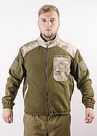 Куртка флисовая вставки A-TAСS FG