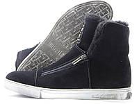 Кроссовки мужские Luxury High Top зимние, черные