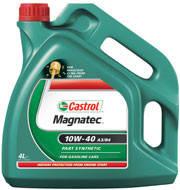 Масло моторное полусинтетическое CASTROL MAGNATEC 10W-40 A3/B4 4L