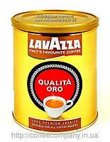 Кофе молотый  Lavazza Qualita Oro в жестяной банке 250 гр