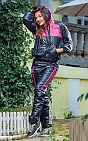 Спортивный женский дутый костюм на синтепоне . Арт-1415.