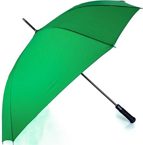 Зеленый женский зонт-трость полуавтомат FARE (ФАРЕ), FARE1182-4