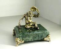 Бронзовая статуэтка Обезьяна эксклюзивный новогодний подарок