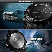 Мужские наручные часы SHARK Army Big Face Sport White
