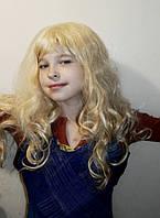 Парик блонд длинный