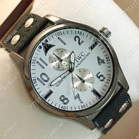 Часы мужские наручные IWC Schaffhausen Black/Black Silver/White