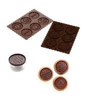 """Форма силиконовая и штамп для печенья c шоколадом """"Рождество"""""""