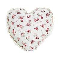 """Декоративная подушка ручной работы """"Сердце"""" Red rose"""