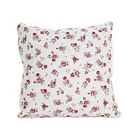 Декоративная подушка со съемной наволочкой Red rose