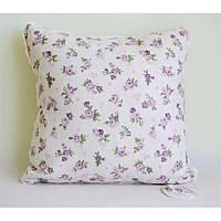Декоративная подушка со съемной наволочкой Lilac rose