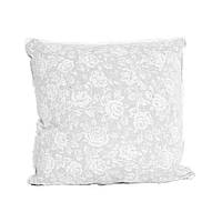 Декоративная подушка со съемной наволочкой White rose