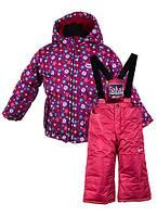Комплект зимний для девочки Salve by Gusti SWG 4900 sparkling grape.