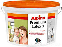 Alpina Premiumlatex  7 B1   Матовая, шелковистая стойкая латексная краска 10 л