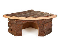 Trixie (Трикси) Jesper Corner House Угловой домик из дерева для мелких грызунов 21 × 10 × 15/15 см