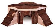 Trixie (Трикси) Thordis Corner House Угловой домик из дерева для мелких грызунов 21 × 7 × 19/19 см