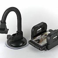 Универсальный держатель (телефон, коммуникатор, GPS и др.) 360° 151мм на стекло
