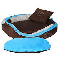 Trixie (Трикси) Bonzo Bed Лежак с подушкой для собак 80 × 65 см