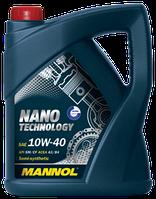 Моторное масло MANNOL NANO TECHNOLOGY (SAE 10W-40 API SM/CF) 4л.