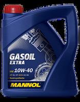 Моторное масло для газовых двигателей MANNOL GASOIL EXTRA SAE 10W-40 API SL/CF 4L