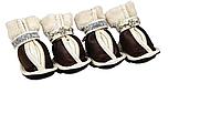 Утепленные ботинки для собак Pet Fashion с украшением № 1