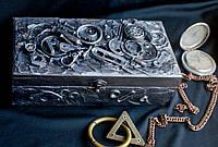 Купюрница в стиле стимпанк «Серебро»