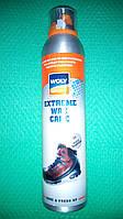 WOLY sport extreme wax care воск - спрей для ухода и защиты изделий из гладкой кожи.