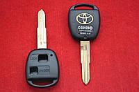 Toyota Corolla, Yaris, MR2, ECHO корпус ключа 2 кнопки лезвие Toy41