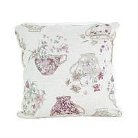 Декоративная подушка со съемной наволочкой Cups