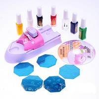 Маникюрный набор BEAUTY NAIL для нанесения рисунков на ногти, принтер для ногтей