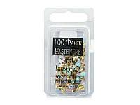 Брадсы Creative Impressions — Pastel Mini Round, 3 мм, 100 шт