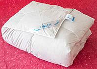 Одеяло пуховое детское 110Х140  (100% пух гусиный белый) кассетное в немецком тике, с кантом IGLEN 11014011W
