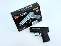 Пневматический пистолет металлический L05