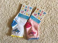Носочки для малыша с птичками