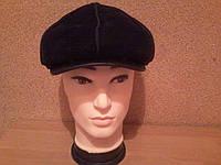 """Демисезонная мужская кепка из натуральной замши модель """"Хулиган"""""""