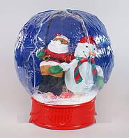 Новогодний надувной шар.