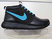 Кроссовки мужские зимние Nike Roshe Run Mid