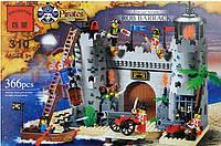 "Конструктор Brick 310 ""Пиратский замок"", Конструктор Брик"