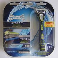 Бритва Wilkinson-Sword Hydro 5 Groomer 4-в-1 + 4 сменные кассеты из Германии