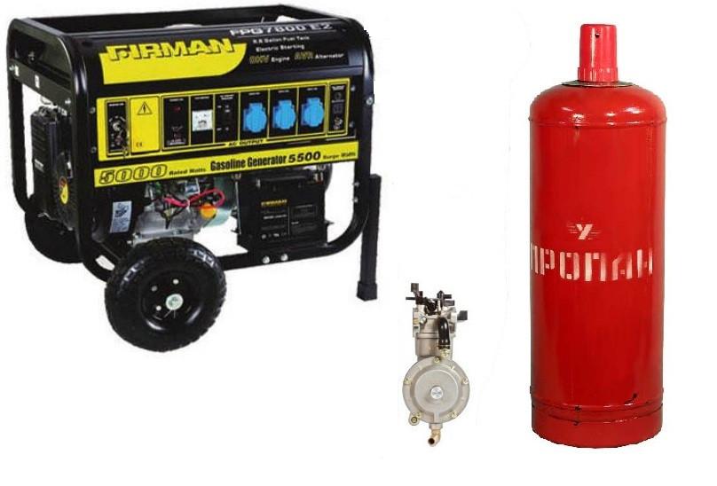Бензиновый генератор firman fpg 7800e2 FIRMAN 7800