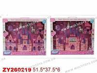 Замок 666-566/568-1 с куклами,каретой в коробке 51,5*6*37,5
