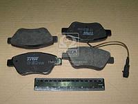Колодка тормоза CITROEN NEMO, FIAT BRAVO, STILO передн. ( TRW), GDB1482