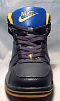 """Подростковые зимние кроссовки """"Nike МВ 1803"""" (синий)"""