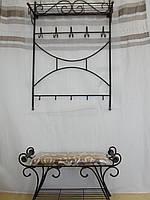 Кованый набор мебели в прихожую  -  016