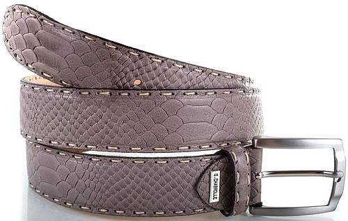 Стильный мужской кожаный ремень GEORGES CHABROLLE (ЖОРЖ ШАБРОЛЛЬ), FARE011-9
